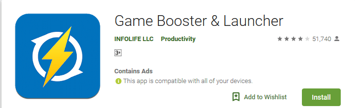 Game Booster Launcher