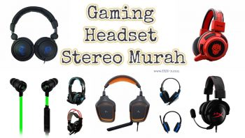 Headset Gaming Stereo Murah