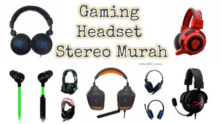 Headset Gaming Stereo Murah