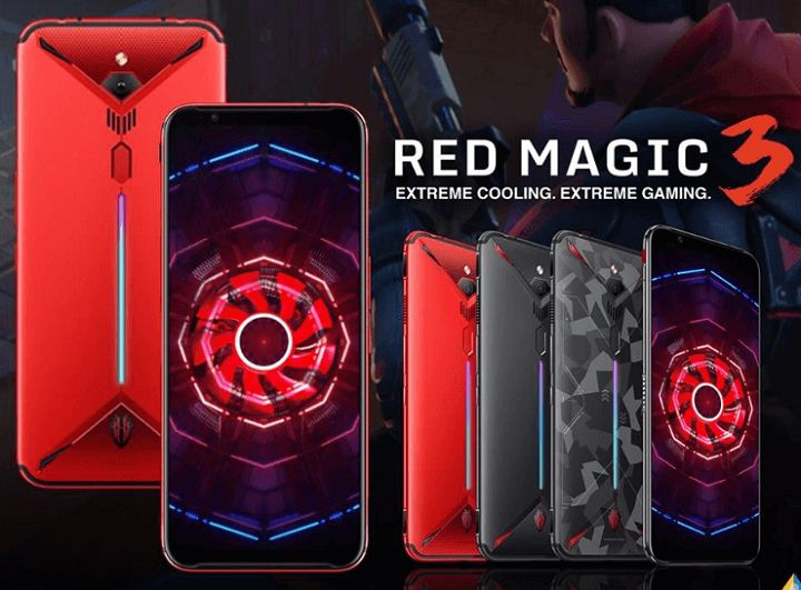 Smartphone Gaming Android Nubia Red Magic 3S