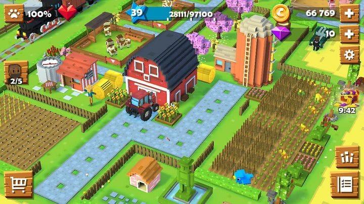 Blocky Farm andalkan grafis 3D luar biasa