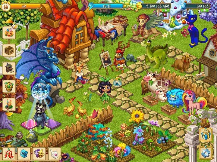 Fairy Farm karakter warna warni yang tak bikin bosan