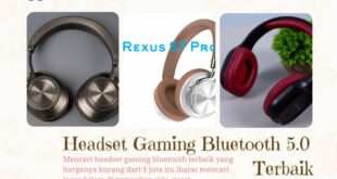 Headset Gaming Bluetooth 5.0