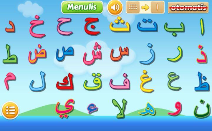 Belajar mudah hijaiyah game untuk mengenalkan huruf arab sejak dini