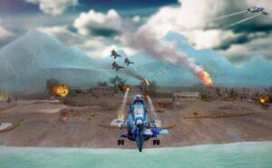 Game perang offline android terbaik Gunship Strike 3D