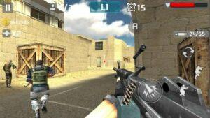 Gun Shot Fire War butuh kapasitas 31 MB
