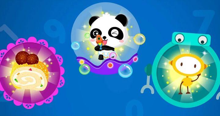 Jenius Matematika Panda Kecil game edukasi anak lengkap berbahasa inggris