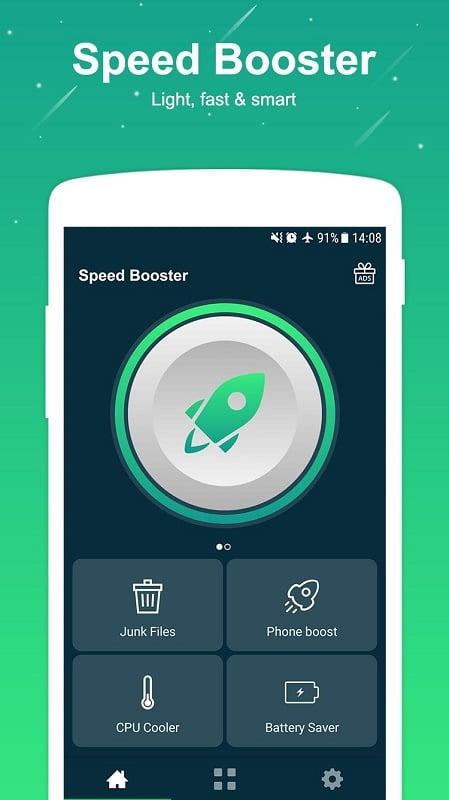 Aplikasi Penambah RAM Android - SPEED BOOSTER