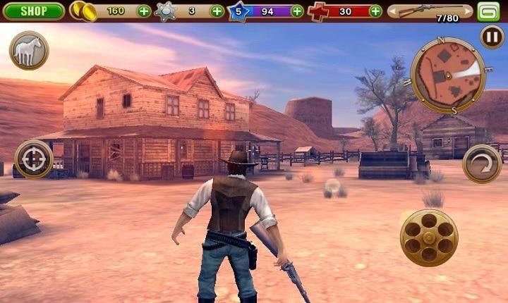 Six Guns Gang Showdown