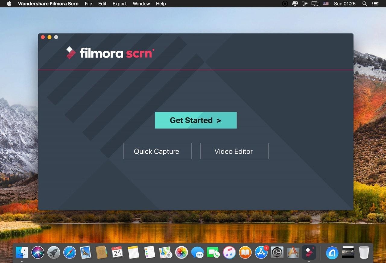 Filmora scrn aplikasi perekam game PC