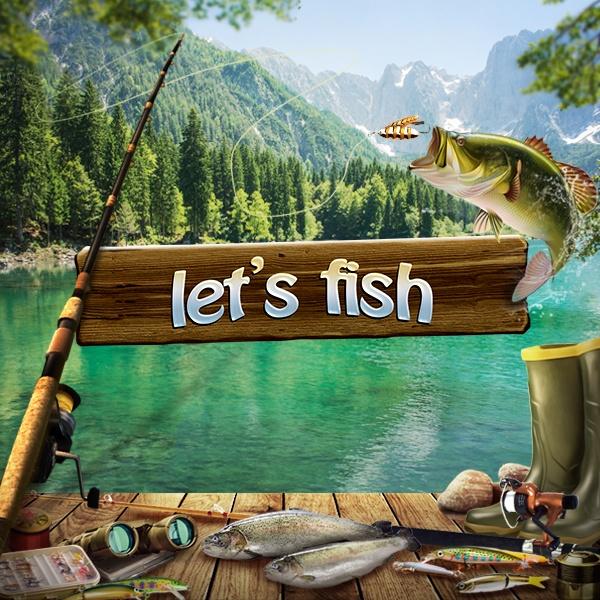 Game Memancing Ikan - lets fish